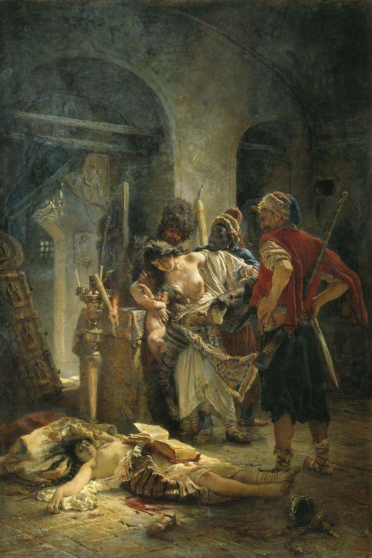 The Bulgarian Martyresses - Konstantin Makovsky