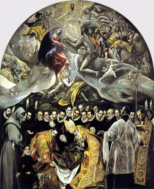 The Burial of the Count of Orgaz - El Greco