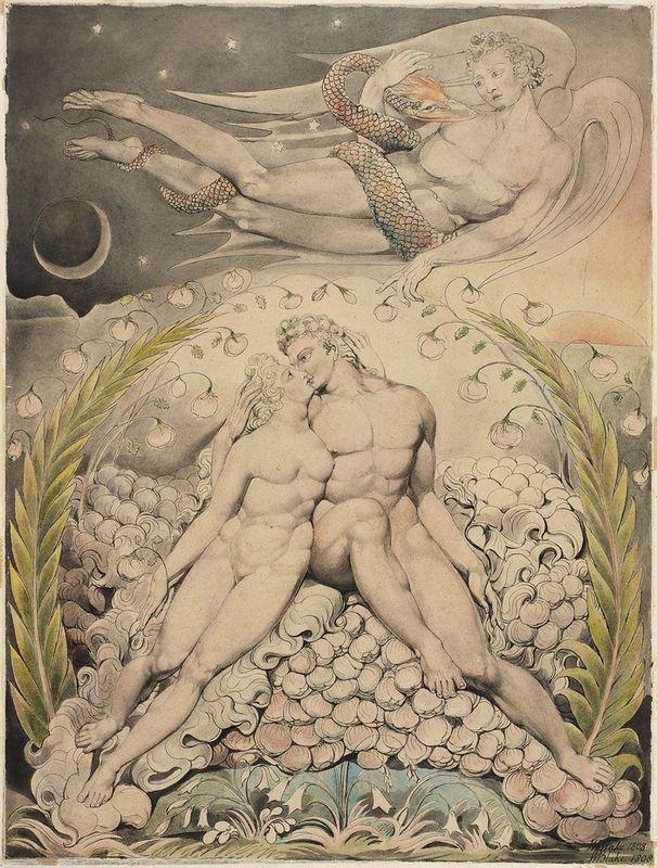 NOT DETECTED - William Blake