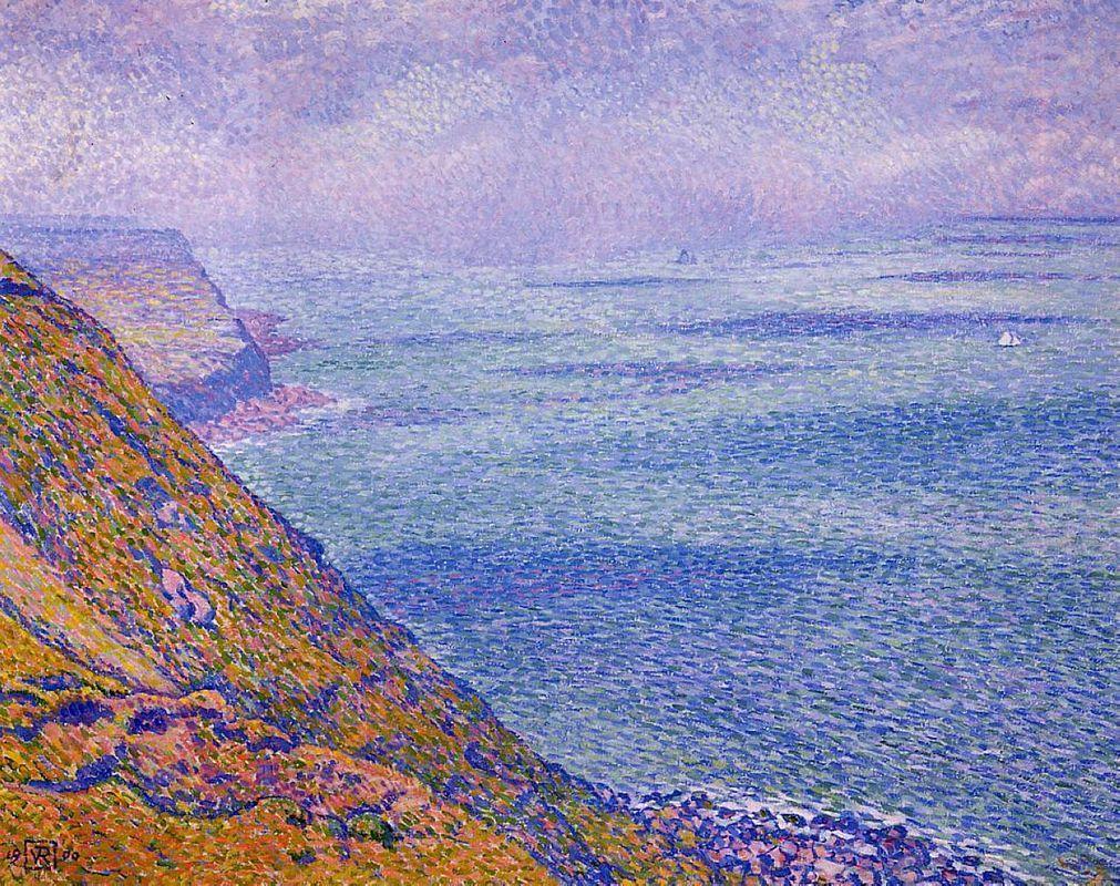 The Cap Gris Nez - Theo van Rysselberghe