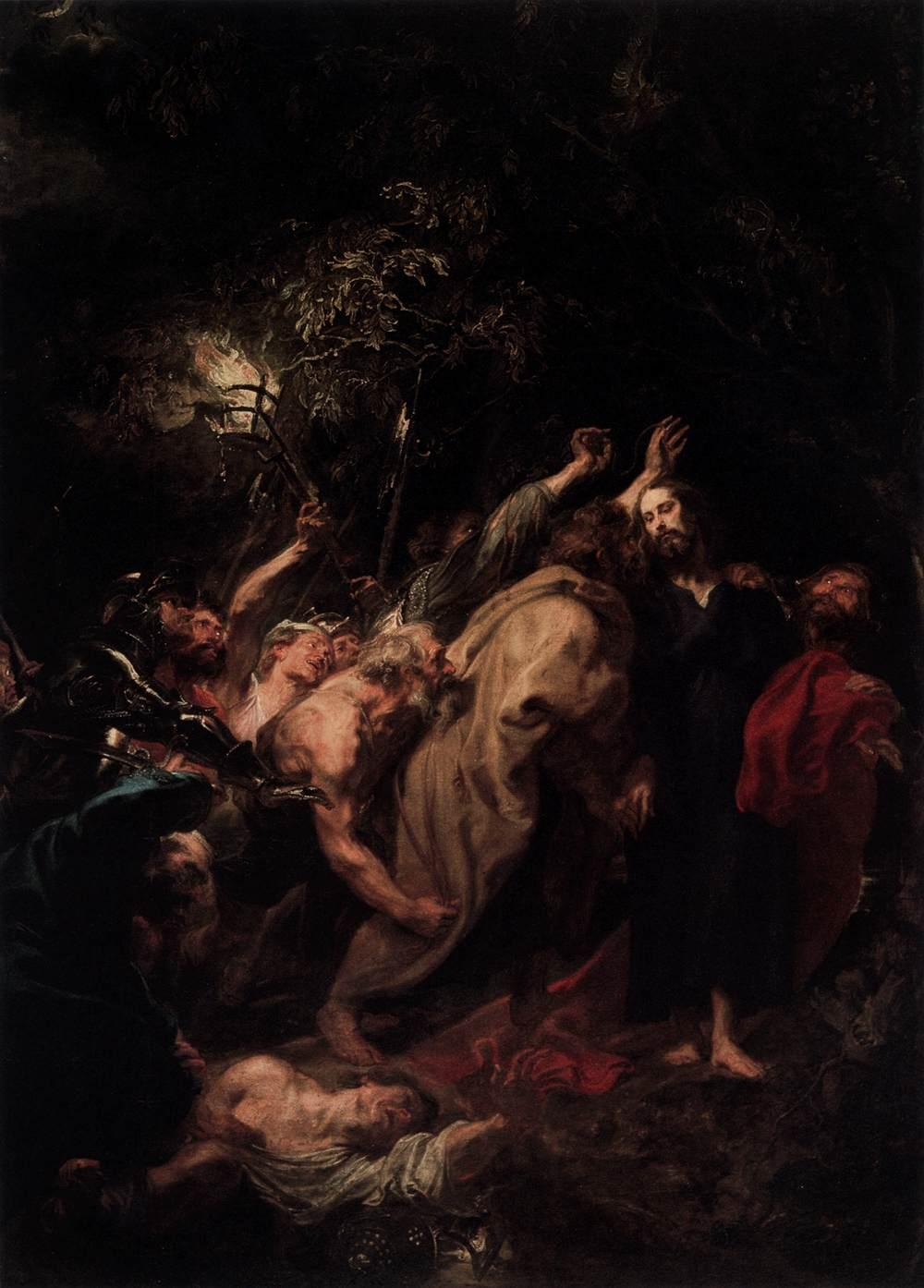 The Capture of Christ - Anthony van Dyck