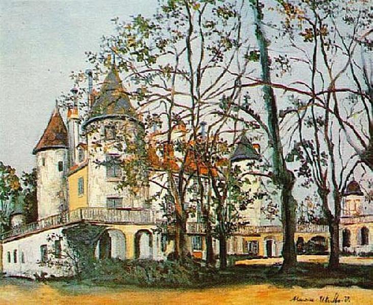 The castle - Maurice Utrillo