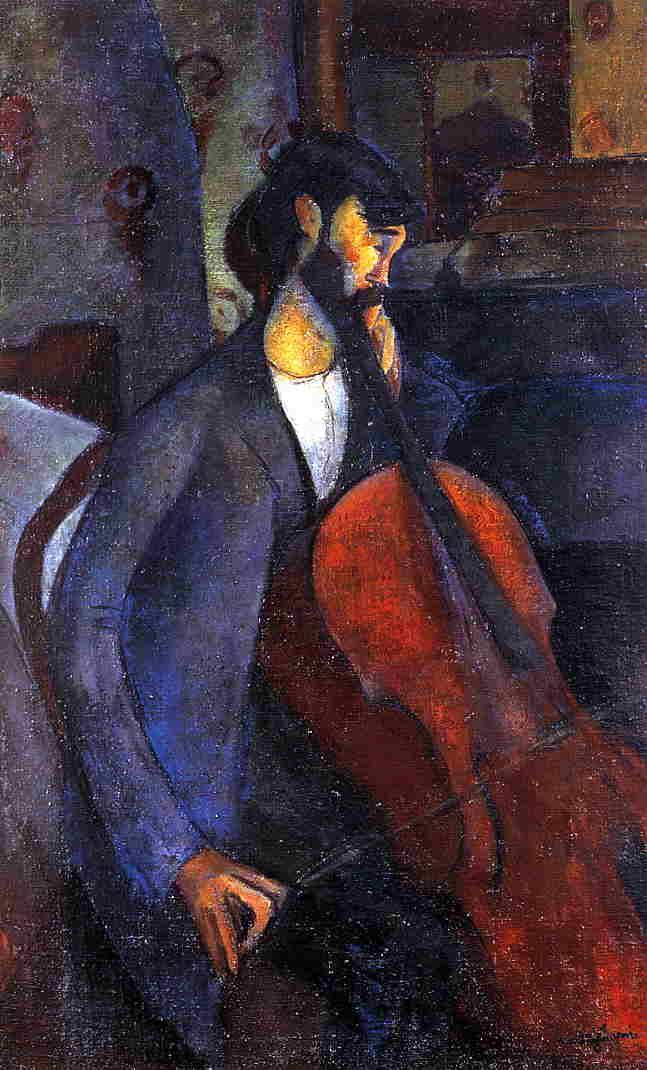 The Cellist - Amedeo Modigliani