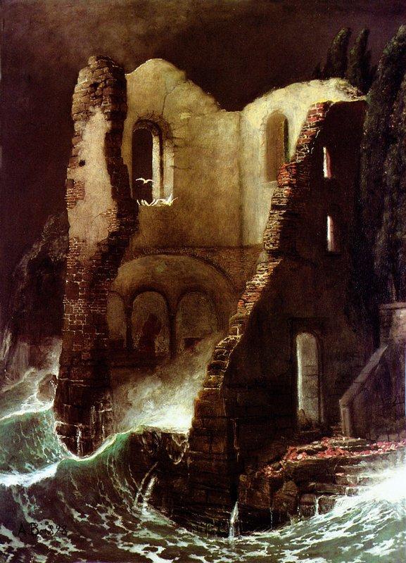 The Chapel - Arnold Bocklin