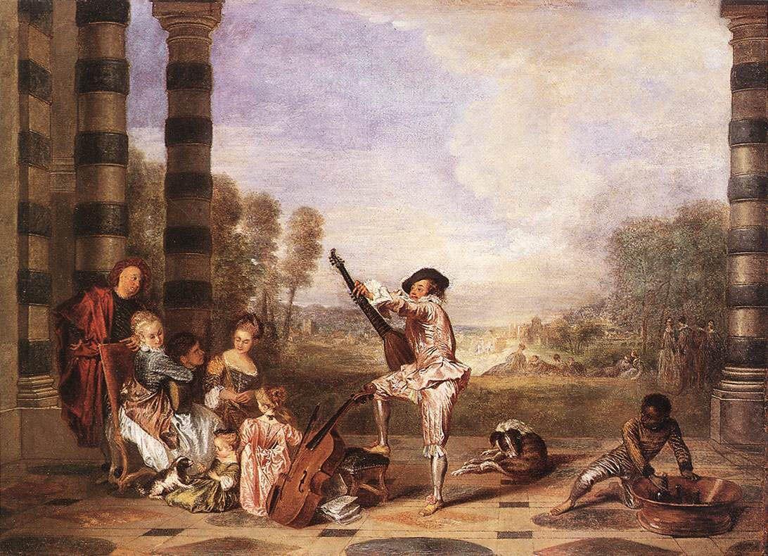 The Charmes of Life - Antoine Watteau