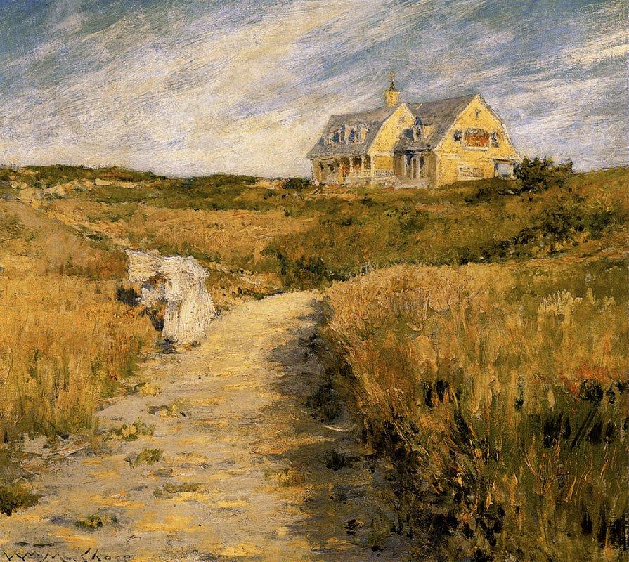 The Chase Homestead at Shinnecock - William Merritt Chase