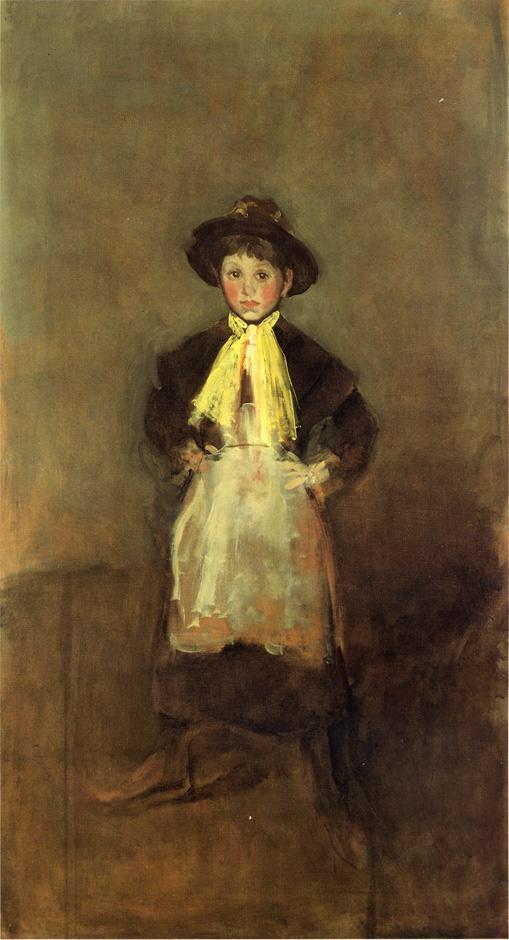 The Chelsea Girl - James McNeill Whistler