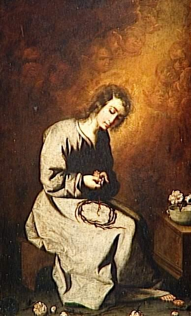 The Child Jesus in the spine - Francisco de Zurbaran