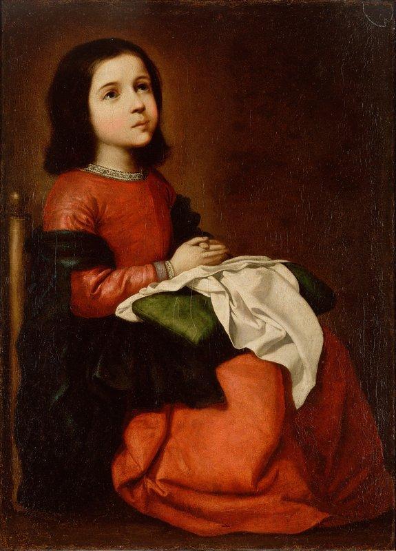 The Childhood of the Virgin - Francisco de Zurbaran
