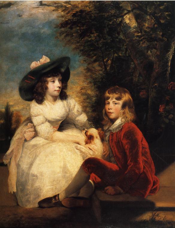 The Children of John Julius Angerstein - Joshua Reynolds