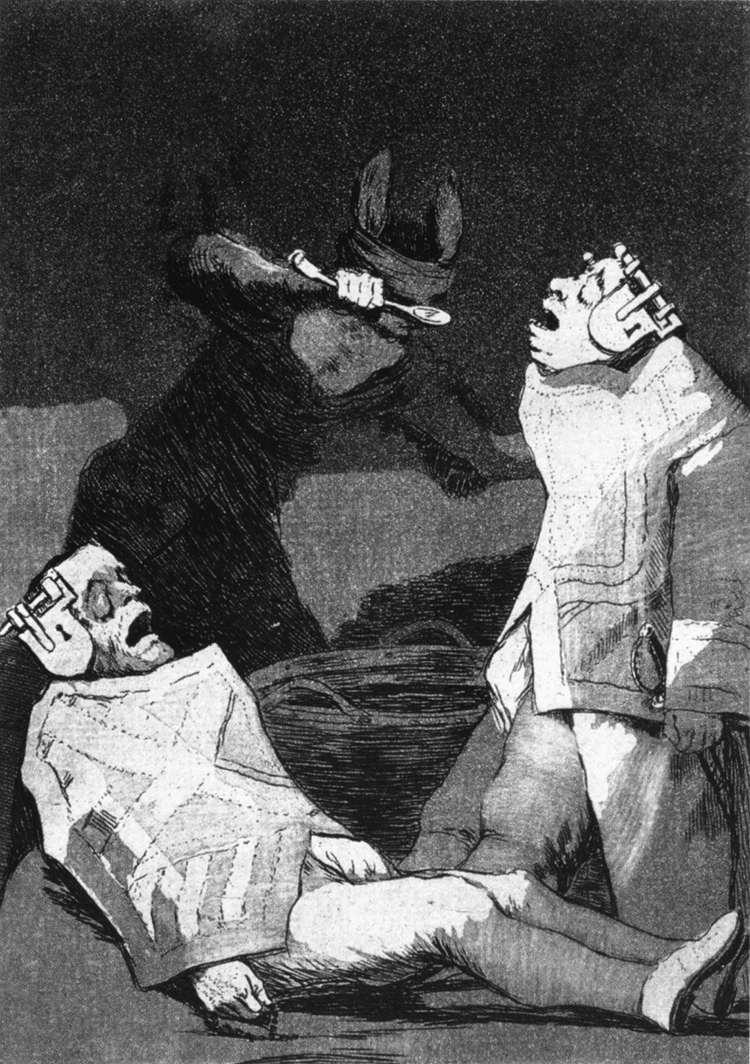The Chinchillas - Francisco Goya