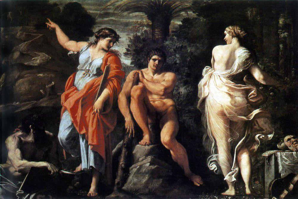 The Choice of Heracles - Annibale Carracci
