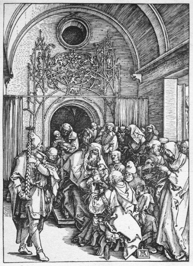 The Circumcision of Christ - Albrecht Durer