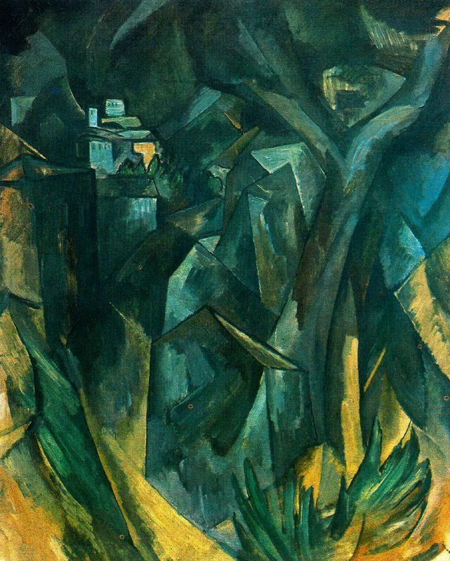 The City on the Hill - Georges Braque