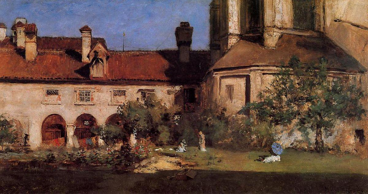 The Cloisters - William Merritt Chase