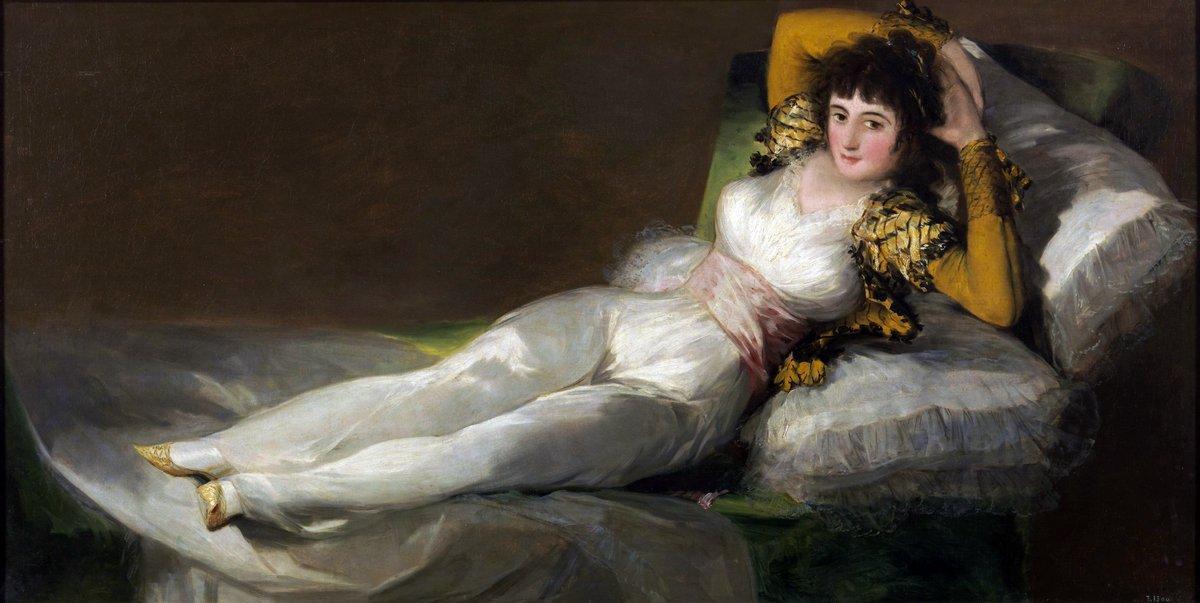 The Clothed Maja - Francisco Goya