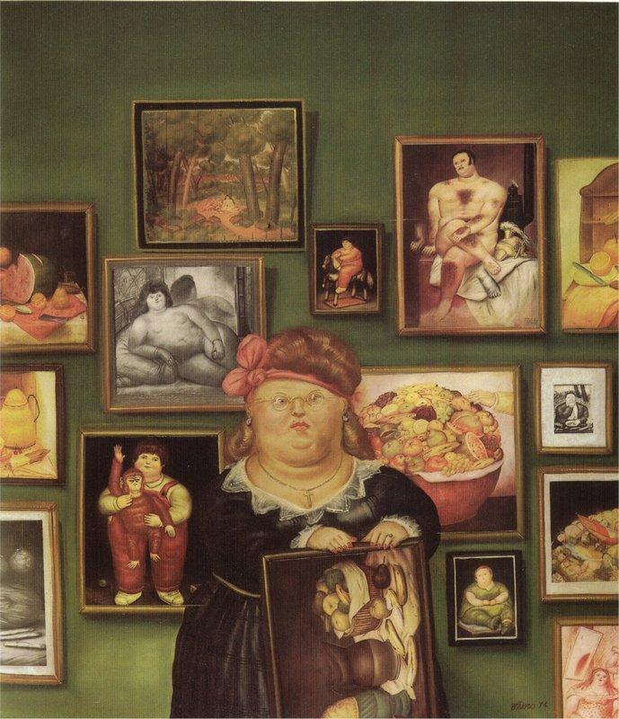 The Collector - Fernando Botero