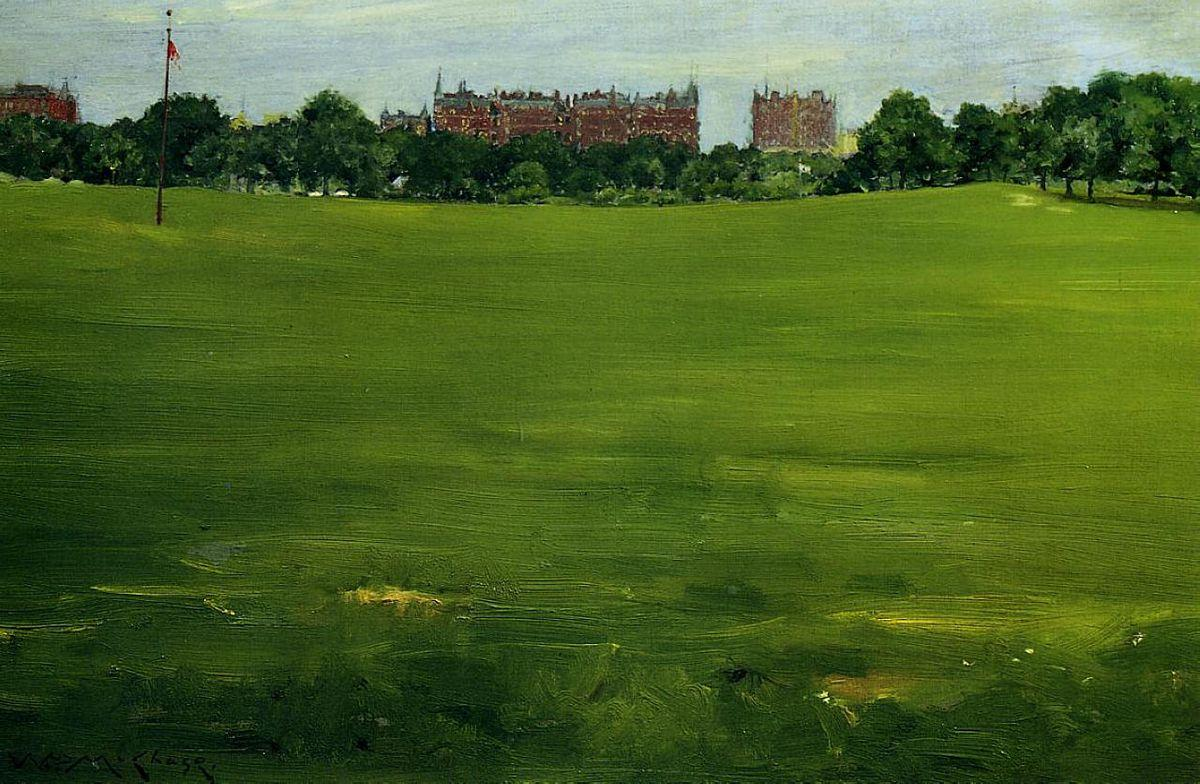 The Common, Central Park - William Merritt Chase