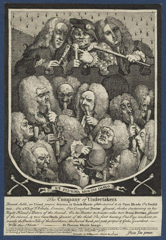 The Company of Undertakers - William Hogarth