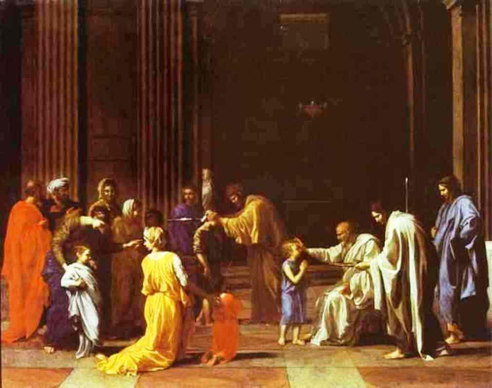The Confirmation - Nicolas Poussin