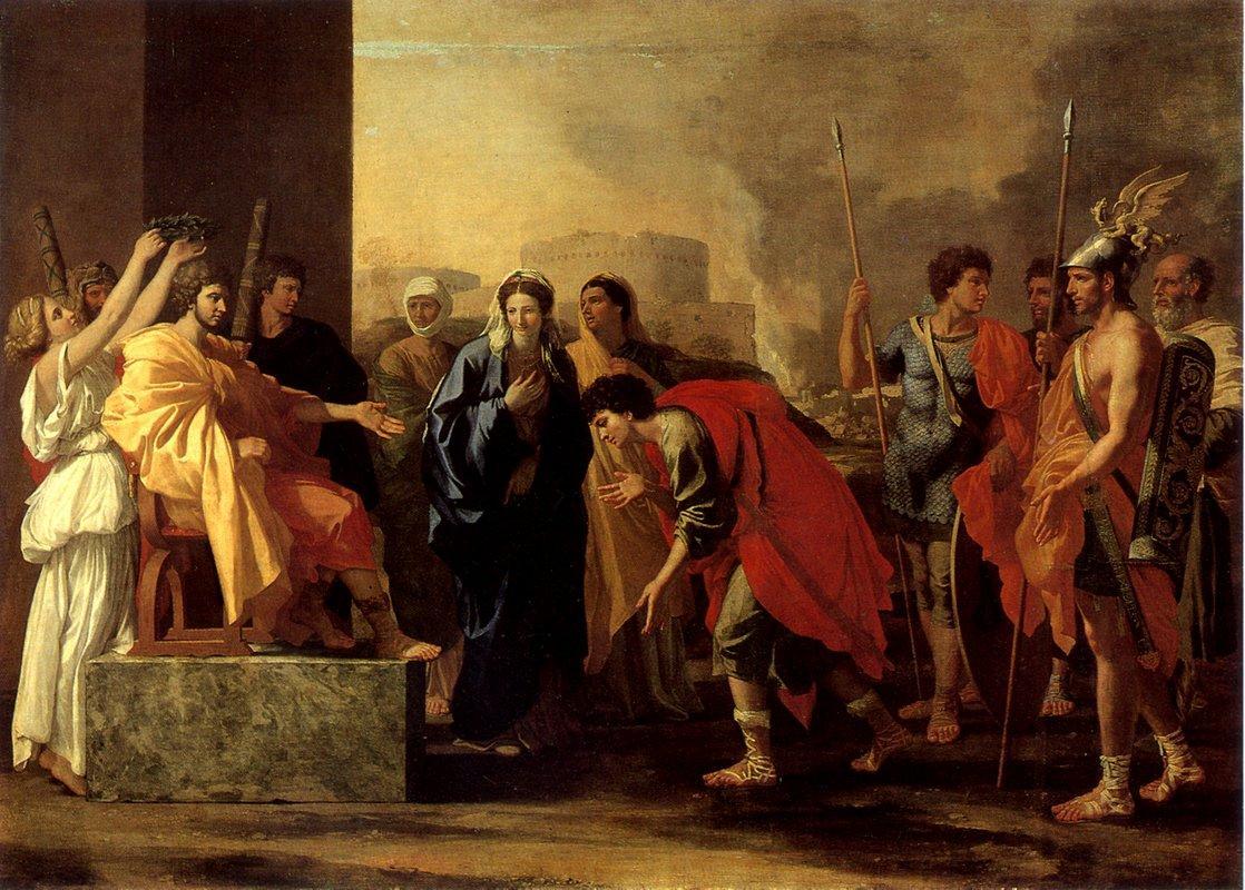 The Continence of Scipio - Nicolas Poussin