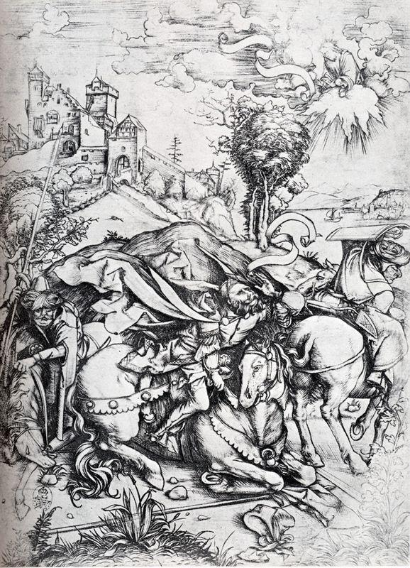 The Conversion Of St. Paul - Albrecht Durer