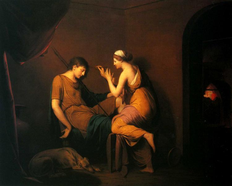 The Corinthian Maid - Joseph Wright
