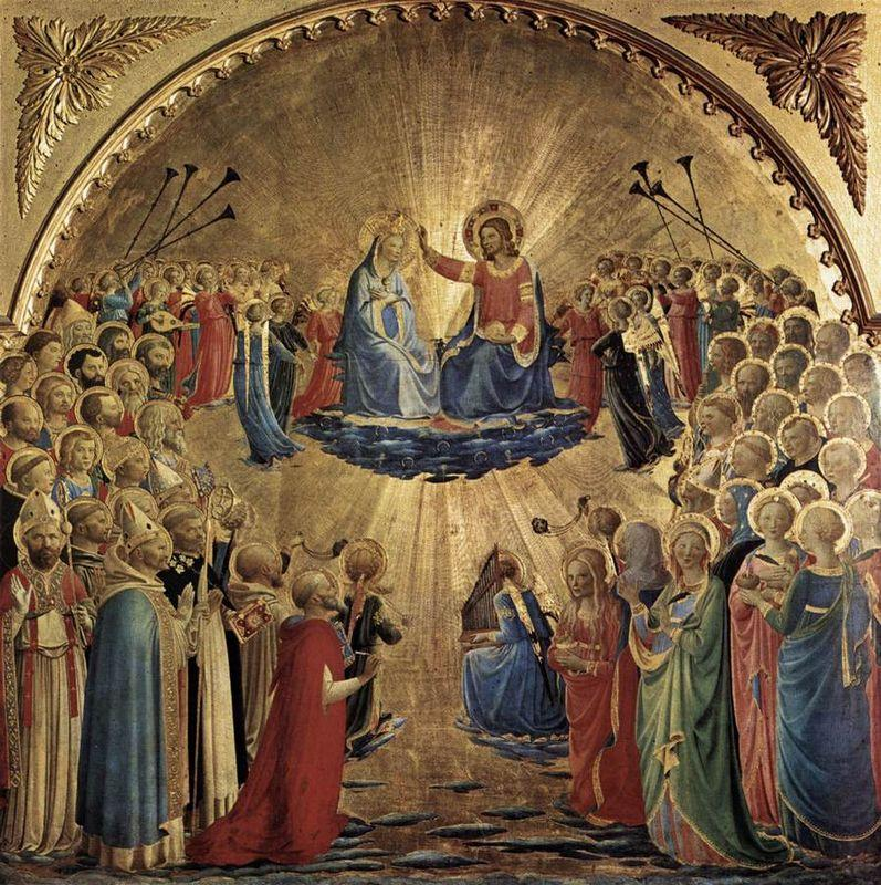 The Coronation of the Virgin - Fra Angelico