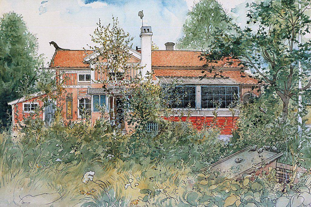 The Cottage - Carl Larsson