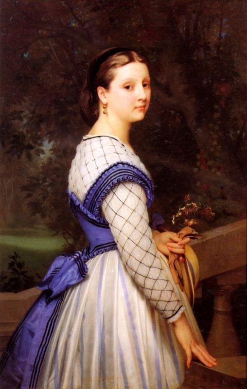 The Countess de Montholon - William-Adolphe Bouguereau