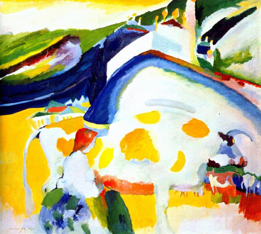 The cow -  Wassily Kandinsky