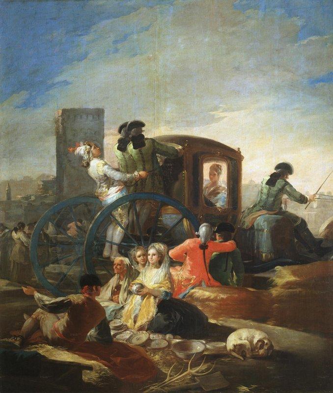 The Crockery Vendor - Francisco Goya