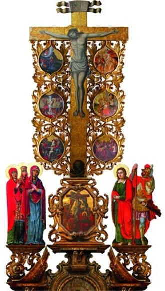 Crucifixtion with scenes of Christ's Passion - Ivan Rutkovych