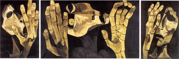 The Cry  - Oswaldo Guayasamin
