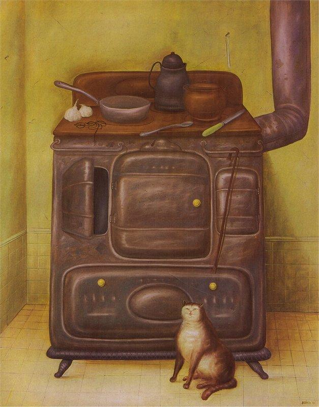 The Cuisine - Fernando Botero