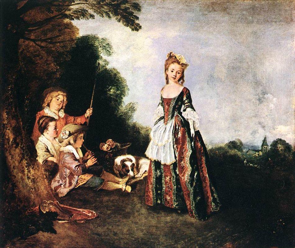 The Dance - Antoine Watteau