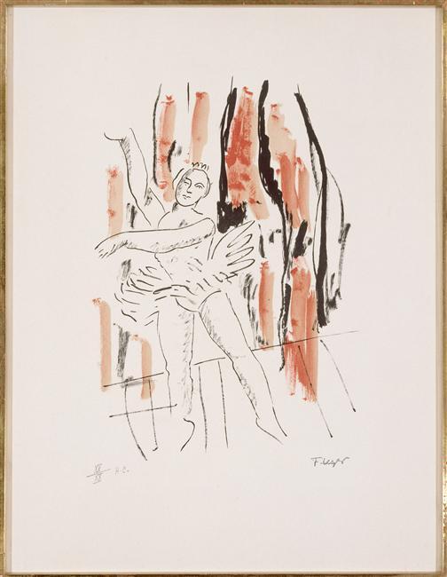 The dancer - Fernand Leger