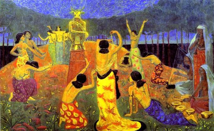 The Daughters of Pelichtim - Paul Serusier