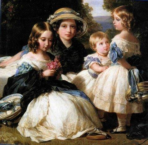 The daughters of Queen Victoria and Prince Albert - Franz Xaver Winterhalter