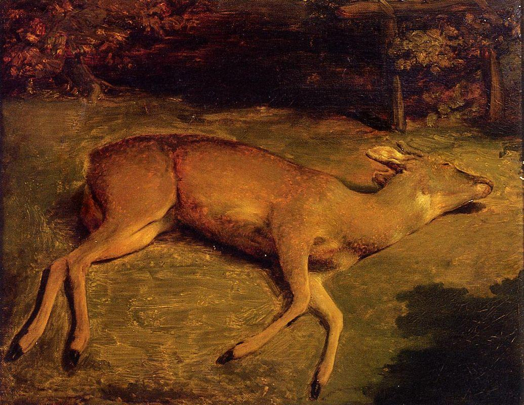 The Dead Doe - Gustave Courbet