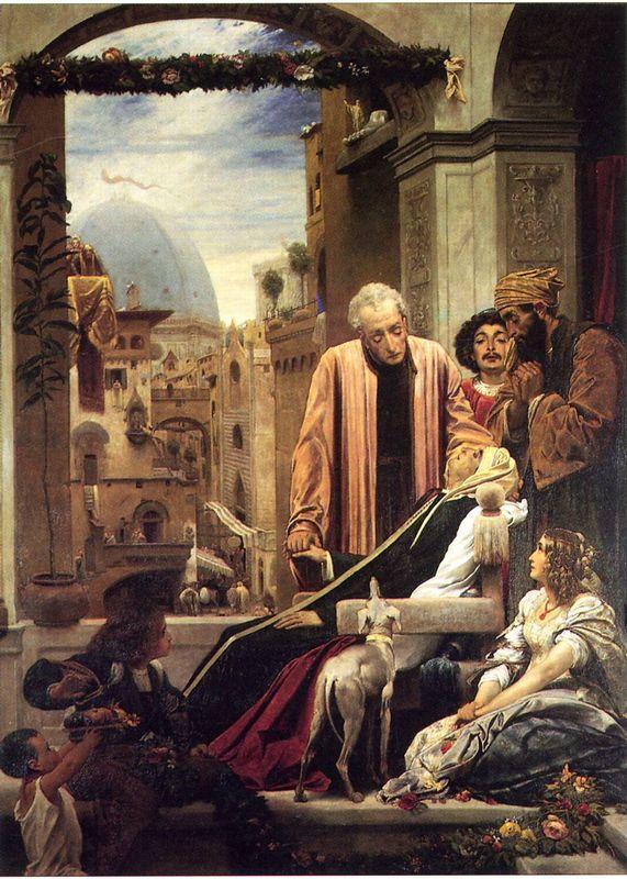 The Death of Brunelleschi - Frederic Leighton