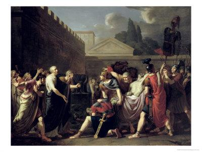The Death of Brutus - Pierre-Narcisse Guerin