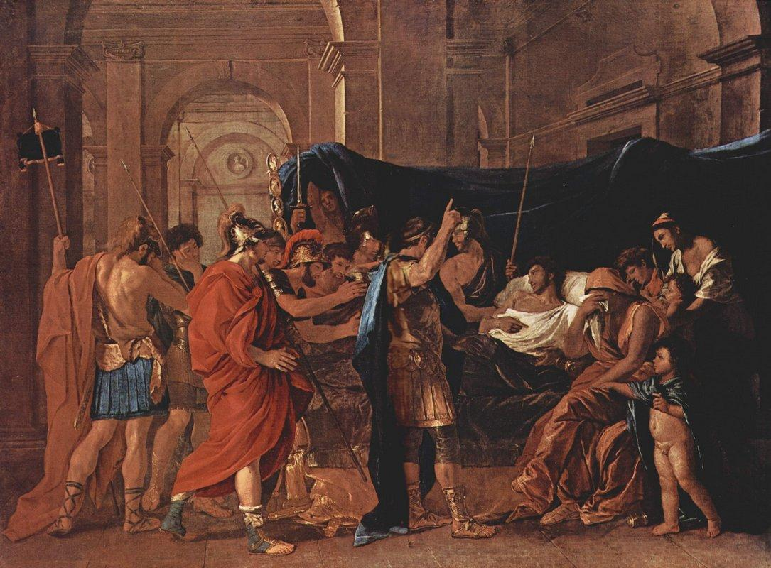 The Death of Germanicus - Nicolas Poussin