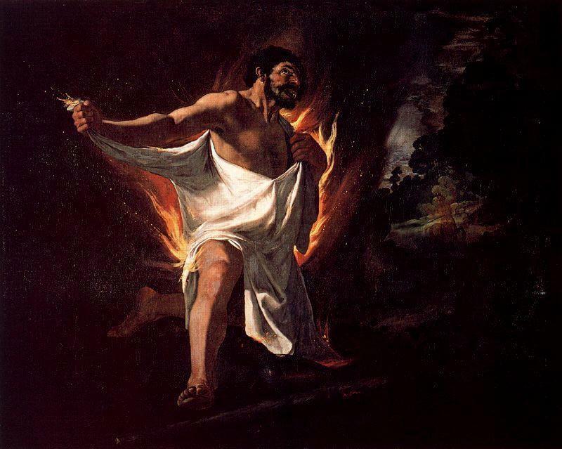 The Death of Hercules - Francisco de Zurbaran