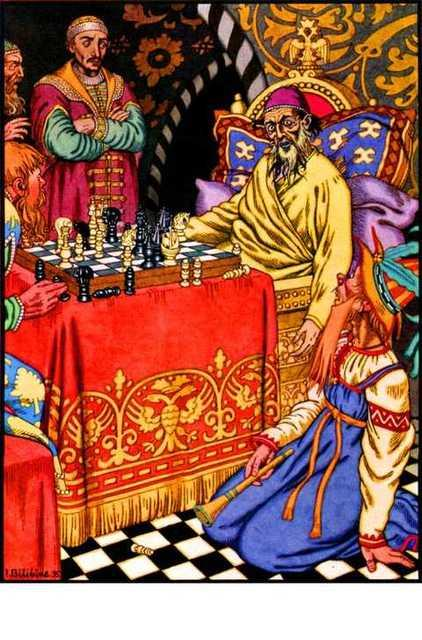 The Death of Ivan the Terrible - Ivan Bilibin