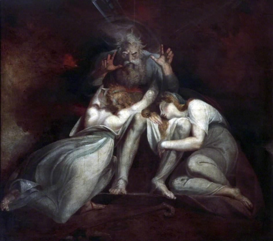 The Death of Oedipus - Henry Fuseli