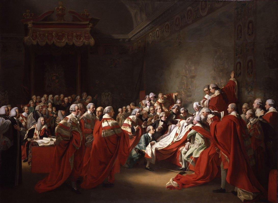 The Death of the Earl of Chatham - John Singleton Copley