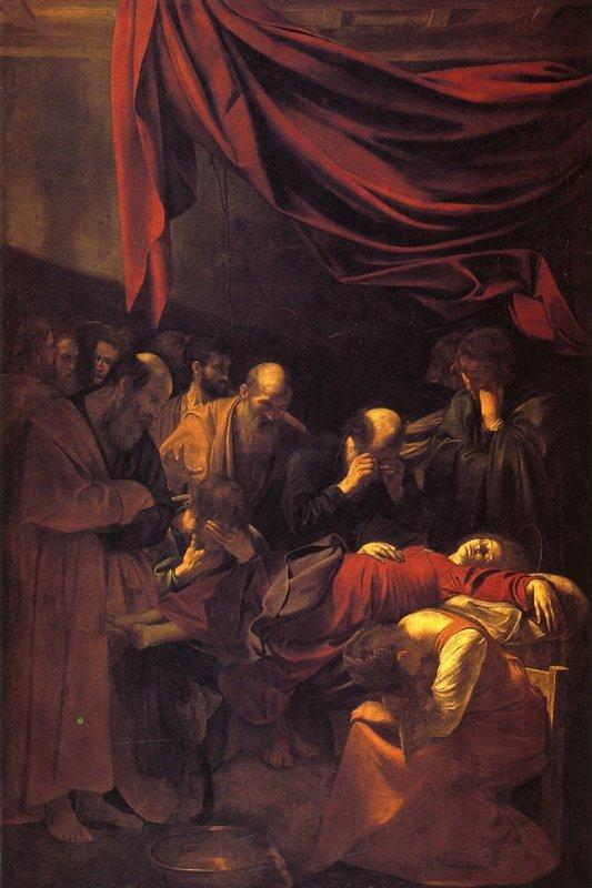 The Death of the Virgin - Caravaggio