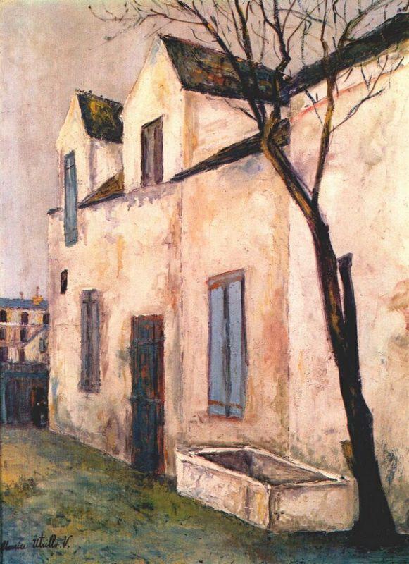 The Debray farm - Maurice Utrillo