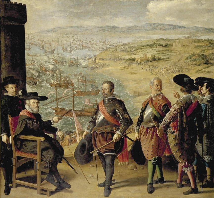 The Defence of Cadiz against the English - Francisco de Zurbaran